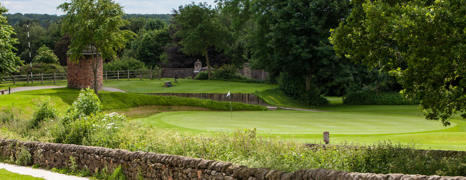 The 6th Green at Chevin
